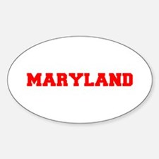 MARYLAND-Fre red 600 Decal