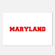 MARYLAND-Fre red 600 Postcards (Package of 8)