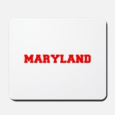 MARYLAND-Fre red 600 Mousepad