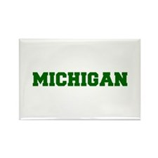 MICHIGAN-Fre d green 600 Magnets