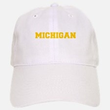 MICHIGAN-Fre gold 600 Baseball Baseball Baseball Cap