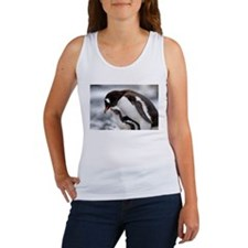 MOTHER AND BABY PENQUIN Women's Tank Top