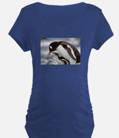 MOTHER AND BABY PENQUIN T-Shirt