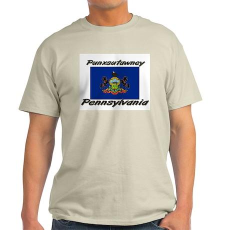 Punxsutawney Pennsylvania Light T-Shirt