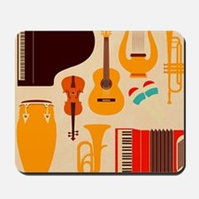 Mid Century Musical Mousepad