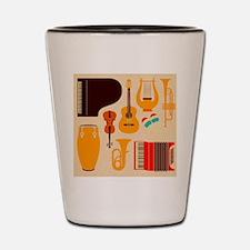 Mid Century Musical Shot Glass