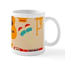Mid Century Musical Mugs