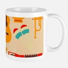 Mid Century Musical Mugs