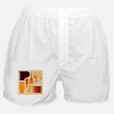 Mid Century Musical Boxer Shorts