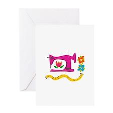 VINTAGE SEWING Greeting Cards