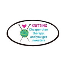 CHEAPER THAN THERAPY Patch