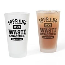 Soprano Waste Management Drinking Glass