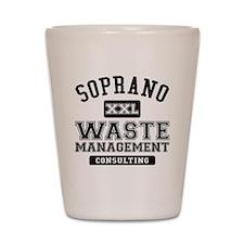 Soprano Waste Management Shot Glass