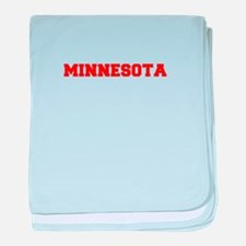 MINNESOTA-Fre red 600 baby blanket