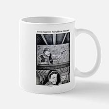 Movie Night in Republican Heaven coffee mug