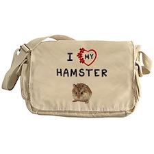 Love My Hamster Messenger Bag