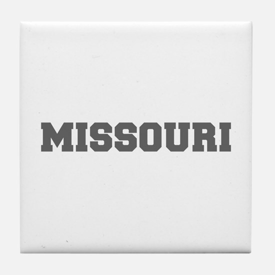 MISSOURI-Fre gray 600 Tile Coaster