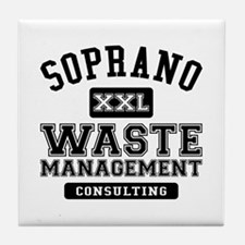 Soprano Waste Management Tile Coaster