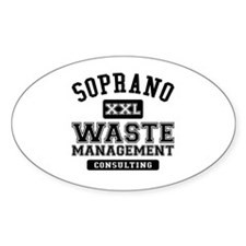 Soprano Waste Management Decal