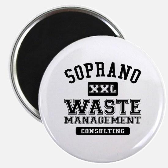 Soprano Waste Management Magnet