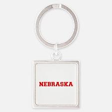 NEBRASKA-Fre red 600 Keychains