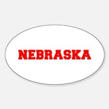 NEBRASKA-Fre red 600 Decal