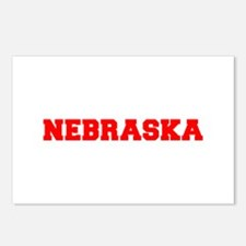 NEBRASKA-Fre red 600 Postcards (Package of 8)