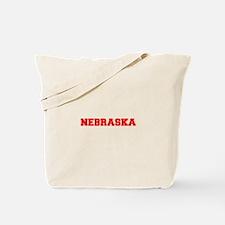 NEBRASKA-Fre red 600 Tote Bag