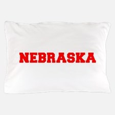 NEBRASKA-Fre red 600 Pillow Case