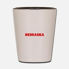 NEBRASKA-Fre red 600 Shot Glass