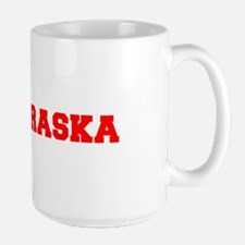 NEBRASKA-Fre red 600 Mugs