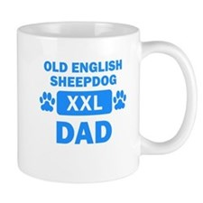 Old English Sheepdog Dad Mugs