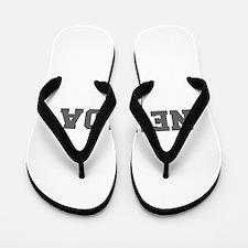 NEVADA-Fre gray 600 Flip Flops
