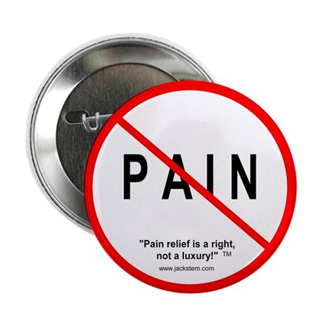 """Stop Pain 2.25"""" Button (100 pack)"""