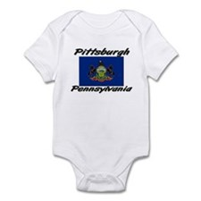 Pittsburgh Pennsylvania Infant Bodysuit