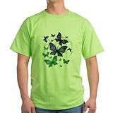 Butterfly Green T-Shirt