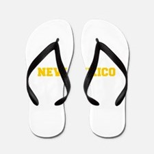 NEW MEXICO-Fre gold 600 Flip Flops