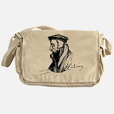 John Calvin Logo with Signature Messenger Bag