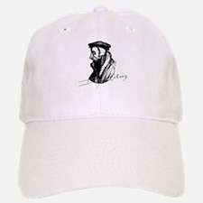 John Calvin Logo with Signature Baseball Baseball Baseball Cap