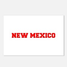 NEW MEXICO-Fre red 600 Postcards (Package of 8)