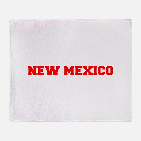 NEW MEXICO-Fre red 600 Throw Blanket