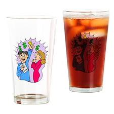 Lottery Winners Drinking Glass