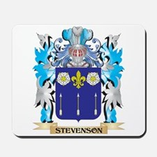 Stevenson- Coat of Arms - Family Crest Mousepad