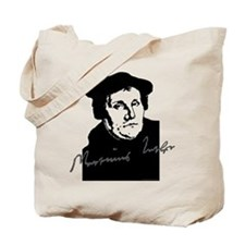 Martin Luther Bust and Signature Tote Bag