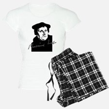 Martin Luther Bust and Signature Pajamas