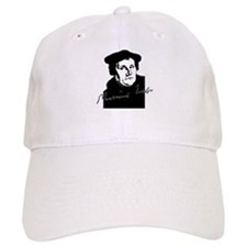 Martin Luther Bust and Signature Baseball Baseball Cap