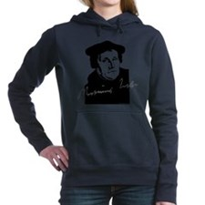 Martin Luther Bust and Signature Women's Hooded Sw