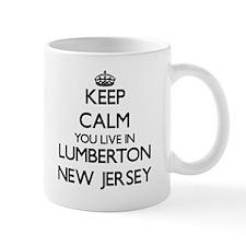 Keep calm you live in Lumberton New Jersey Mugs