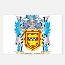 Stewart Coat of Arms - Fa Postcards (Package of 8)