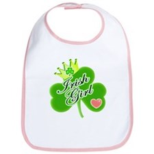 Irish Girl St. Patrick's Day Bib